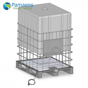 High Efficiency IBC Tote Base Aluminum Foil Heater at Great Price