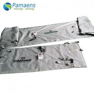 One Year Warranty IBC Tote Large Container Heating Blanket for Coconut Oil Supplied by Factory Directly