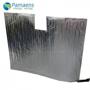 High Efficiency Electric Heated Concrete Curing Blankets, Simple, Convenient and Low Cost