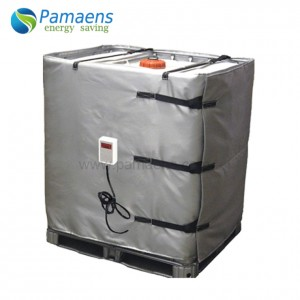 Water/Oil Proof IBC Tank heater Heating Blanket with Thermostat and Overheat Protection