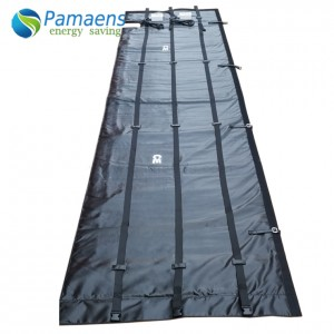 Heating Insulation Jacket for 1000L IBC tote, 200L Drum, Gas Cylinder with Uniform Heating