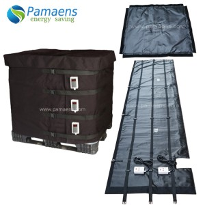 Water/Oil Proof IBC Heater Jacket with Thermostat and Overheat Protection