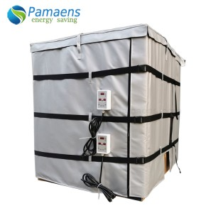 Water/Oil Proof Jacket Heaters for 1000L IBC Tank / Tote with Thermostat and Overheat Protection