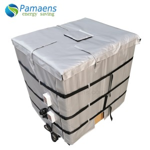 Good Performance 250 gal Insulated IBC Steel Tote Heater Supplied by Factory Directly