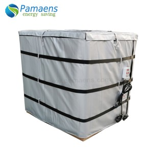 Fast Delivery 1000L IBC Insulated Tank Heated Jacket for Honey Coconut Oil Milk