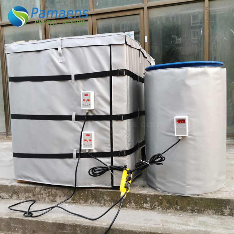 Customized Heated Barrel Blankets and Jackets with Thermostat and Overheat Protection