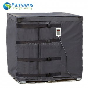 Electric Industrial Heating Blankets 1000L Tote Heater 1200*1000*1100