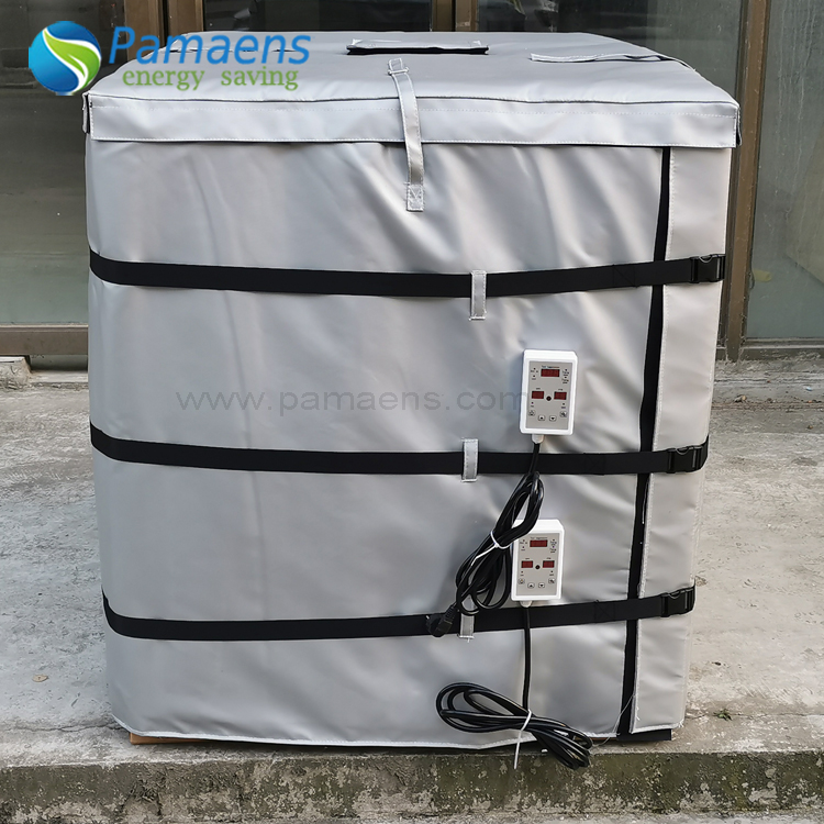 Customized Waterproof Heating Blanket for 1000 Litres IBC Tank Chinese Factory Offer Featured Image
