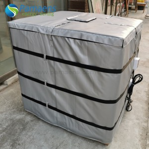 Customized 250 Gal Insulated IBC Steel Tote Heater Chinese Factory Offer