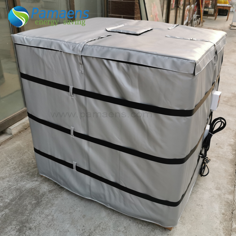 Customized 250 Gal Insulated IBC Steel Tote Heater Chinese Factory Offer Featured Image