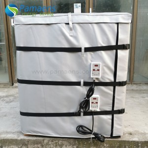 Water/Oil Proof 220, 275 and 330 Gallon Full-wrap Tote Heating Systems IBC Tote Heater