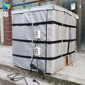 High Quality Flexible Heating Jackets for 1000L IBC Tanks or Totes Chinese Factory Offer