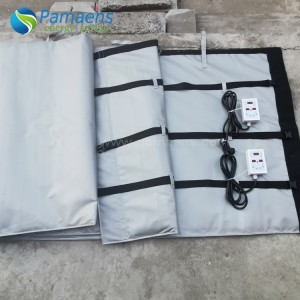 Water/Oil Proof IBC Tote Warmer, Tank Insulation Jackets, with Adjustable Thermostat
