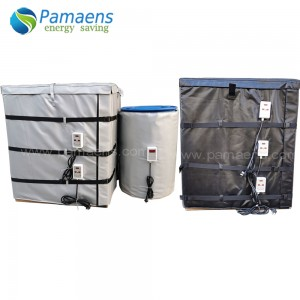 High Quality Custom 150C Flexible Chemical Drum IBC Container Heater Heating Blanket