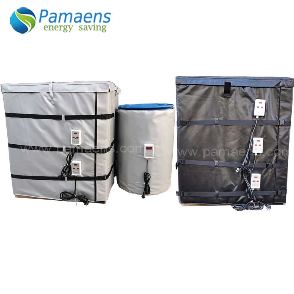 High Quality Custom 150C Flexible Chemical Drum IBC Container Heater Heating Blanket Featured Image