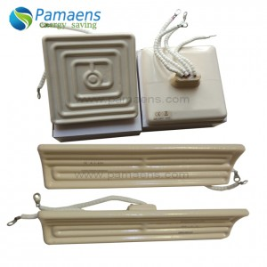 Infrarrojo de cerámica del elemento calefactor 110v de la alta eficacia de la calefacción con vida útil larga