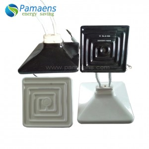 120 x 120 mm Trough/Hollow/Flat Shape Far Infrared Ceramic Heater with Lifetime 3 to 5 Years