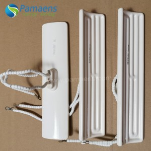 Fast Heating Electric Infrared Heaters with Long Lifetime