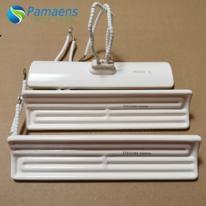 High Temperature Resistance Insulating Ceramic Infrared Heater Heating Element