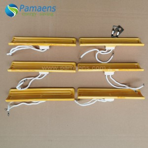 High Heating Efficient Thermoforming Ceramic Infrared Heater Parts with More Than 6000 Hours Life Span