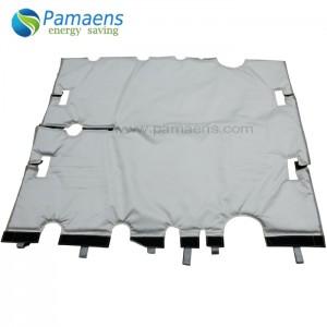 Reusable and Removable Fiberglass Jacket Insulation for Tanks, Vessel, Pipes, Flanges, Valves etc