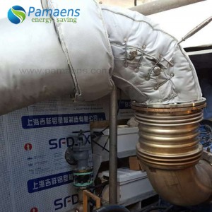 Water and Fire Proof Detachable Condensate Pump Insulation Jackets Made in China