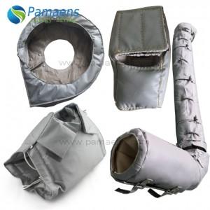 Wiederverwendbare und entfernbare Wärmedämmjacken, angepasst mit flexiblem MOQ
