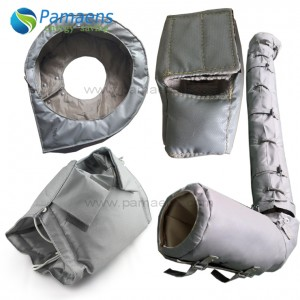 Removable and Reusable Fiberglass Pipe Insulation Covering