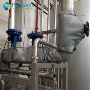 Removable Customized Industrial Insulation Jacket for Steam Pipe