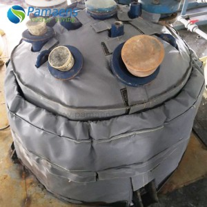 Customized Heat Exchanger Head Insulation Blanket, Insulation Cover