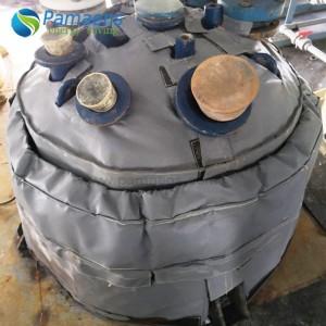 Индивидуальное изоляционное покрытие головки теплообменника, изоляционная крышка