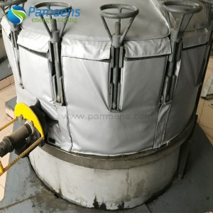Water and Fire Proof Aerogel Vulcanizing Machine Insulation Cover Made in China