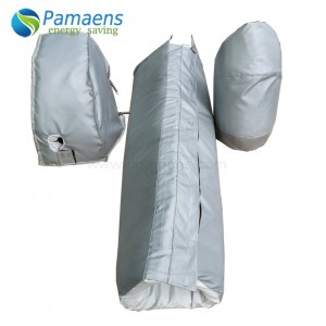 Reusable and Removable Insulation Jackets for Pipes, Elbow and Flanges