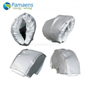 Reusable and Removable Thermal Insulation Jacket for Elbow