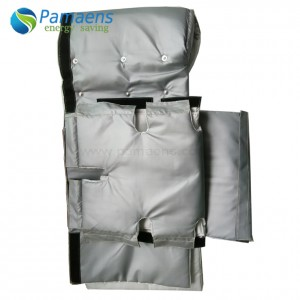 Reusable and Removable Insulation Jackets for Screen Changer with High Temperature Resistant