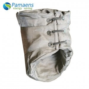 Stainless Steel Braided Cloth Exhaust Pipe Insulation Jackets for Very High Temperature Resistant