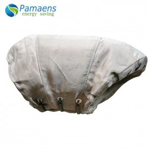 High Temperature Resistance Insulation Jacket for Exhaust Elbow