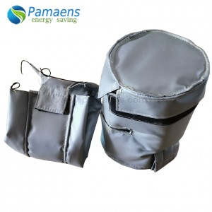Removable and reusable thermal insulation jacket / cover applied to pipe, valve and flang