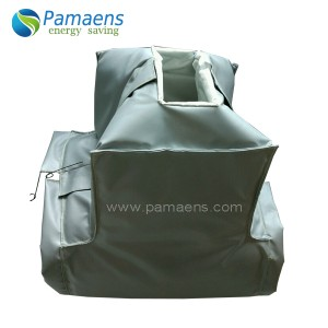 Reusable and Removable Angle Stop Valves Insulation Jackets with High Temperature Resistant