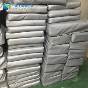 Grey / White Fiberglass Heat Resistant Thermal Insulation Pads