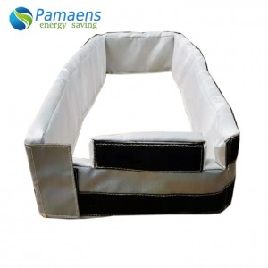 Removable Flexible Thermal Insulation Jacket for Plate Heat Exchanger