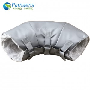 Removable Pipe Insulation Cover Elbow Tee Flexible Insulation Jacket