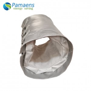 Nā Pahu Uila Fiberglass Thermal Cover Removable Insulation Jackets no nā Pipe, Flanges a me Bellow