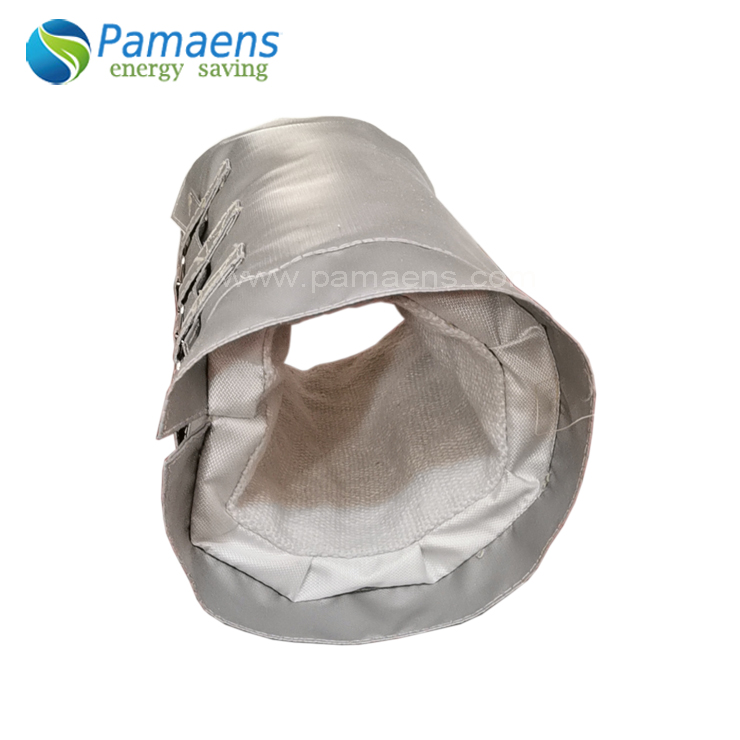 Custom Fiberglass Thermal Cover Removable Insulation Jackets for Pipes, Flanges and Bellow Featured Image