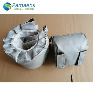 High Temperature Resistance Barrel Insulation Cover For Band Heater with Long Lifetime