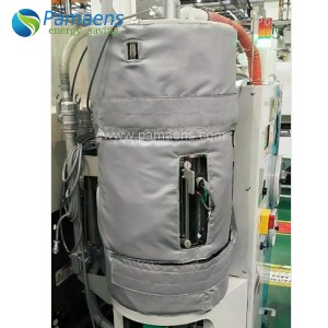 Factory Supplied Custom Removable Insulation Jacket for Hopper