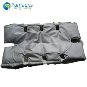 Energy saving thermal insulation jacket for plate heat exchanger
