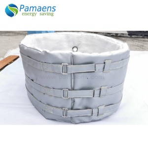 High Temperature Heat Insulation Jacket for Heaters and Barrels with One Year Warranty