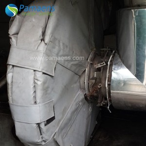 Customized High Temperature Boiler Insulation Jacket with One Year Warranty