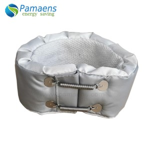 High Temperature Resistance Insulation Jacket for Flanges, Bellow, Heaters and Pipes
